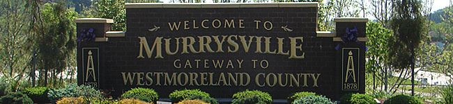 Welcome to Murrysville Sign
