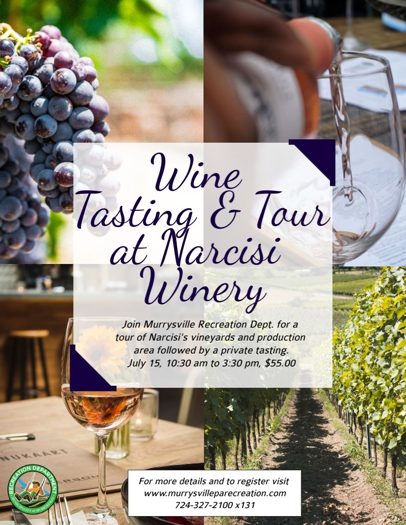 Winery Trip Flyer