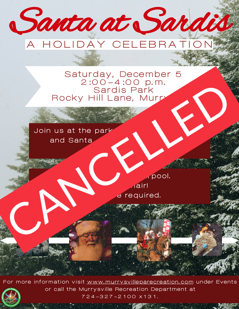 Santa at Sardis CANCELLED FLYER