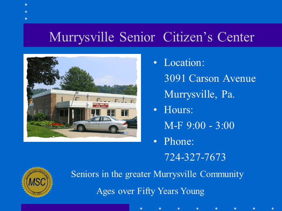 Senior Center Slide1